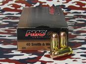 PMC AMMUNITION Ammunition 40 SMITH & WESSON